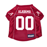 Alabama Crimson Tide Dog Pet Premium Mesh Football Jersey