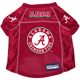 Alabama Crimson Tide Dog Pet Premium Alternate Mesh Football Jersey