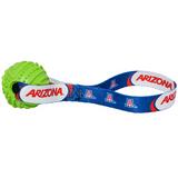 Arizona Wildcats Dog Rubber Ball Tug Toss Toy