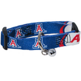 Arizona Wildcats Cat Adjustable Safety Collar w/ Bell