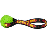 Arizona State Sun Devils Dog Rubber Ball Tug Toss Toy
