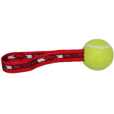 Arkansas Razorbacks Dog Tug Toss Toy Tennis Ball