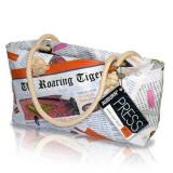 Auburn Tigers Newspaper Hobo Purse