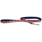 Auburn Tigers Dog Pet Premium 6ft Nylon Lead Leash