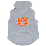 Auburn Tigers Dog Pet Premium Button Up Embroidered Hoodie Sweatshirt