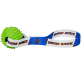 Boise State Broncos Dog Rubber Ball Tug Toss Toy