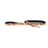 Clemson Tigers Dog Pet Premium 6ft Nylon Lead Leash