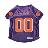 Clemson Tigers Dog Pet Premium Mesh Football Jersey
