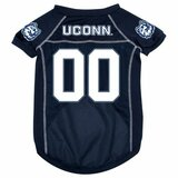 Connecticut Huskies Dog Pet Mesh Football Jersey