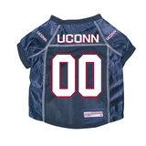 UCONN Huskies Dog Pet Premium Mesh Football Jersey