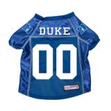 Duke Blue Devils Dog Pet Premium Mesh Football Jersey
