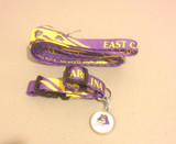 East Carolina Pirates Dog 3pc Pet Set Leash Collar ID Tag