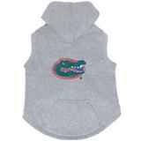 Florida Gators Dog Pet Premium Button Up Embroidered Hoodie Sweatshirt