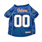 Florida Gators Dog Pet Premium Mesh Football Jersey