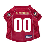 Florida State Seminoles Dog Pet Premium Mesh Football Jersey