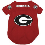 Georgia Bulldogs Dog Pet Mesh Alternate Football Jersey