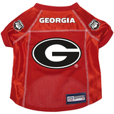Georgia Bulldogs Dog Pet Premium Alternate Mesh Football Jersey