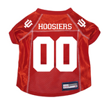 Indiana Hoosiers Dog Pet Premium Mesh Football Jersey