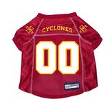 Iowa State Cyclones Dog Pet Premium Mesh Football Jersey