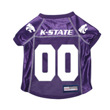 Kansas State Wildcats Dog Pet Premium Mesh Football Jersey