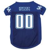 Kentucky Wildcats Dog Pet Mesh Football Jersey