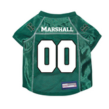 Marshall Thundering Herd Dog Pet Premium Mesh Football Jersey