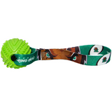 Marshall Thundering Herd Dog Rubber Ball Tug Toss Toy