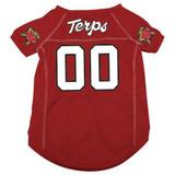 Maryland Terrapins Terps Dog Pet Mesh Football Jersey
