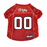 Maryland Terrapins Terps Dog Pet Premium Mesh Football Jersey