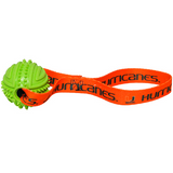 Miami Hurricanes Dog Rubber Ball Tug Toss Toy