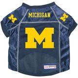 Michigan Wolverines Dog Pet Premium Alternate Mesh Football Jersey
