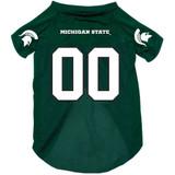 Michigan State Spartans Dog Pet Mesh Football Jersey