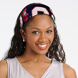 Mississippi Rebels Football Jersey Fanband Headband