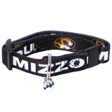 Missouri Mizzou Tigers Cat Adjustable Safety Collar w/ Bell