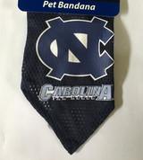 North Carolina Tar Heels Dog Pet Mesh Football Jersey Bandana