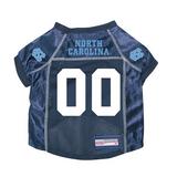 North Carolina Tar Heels Dog Pet Premium Mesh Football Jersey