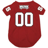 NC State Wolfpack Dog Pet Mesh Football Jersey