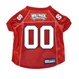 NC State Wolfpack Dog Pet Premium Mesh Football Jersey