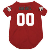 Ohio State Buckeyes Dog Pet Mesh Football Jersey