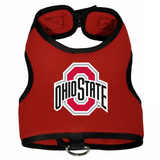 Ohio State Buckeyes Dog Pet Premium Mesh Vest Harness
