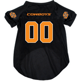 Oklahoma State Cowboys Dog Pet Mesh Football Jersey