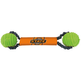 Oklahoma State Cowboys Dog Dual Rubber Ball Bungee Tug Toss Toy