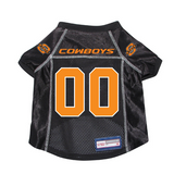 Oklahoma State Cowboys Dog Pet Premium Mesh Football Jersey