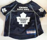 Toronto Maple Leafs Dog Pet Premium Mesh Hockey Jersey