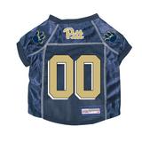 Pittsburgh Pitt Panthers Dog Pet Premium Mesh Football Jersey