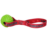 South Carolina Gamecocks Dog Rubber Ball Tug Toss Toy