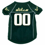 South Florida Bulls Dog Pet Mesh Football Jersey