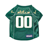 South Florida Bulls Dog Pet Premium Mesh Football Jersey