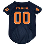 Syracuse Orangemen Dog Pet Mesh Football Jersey