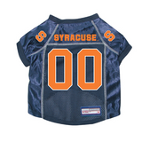 Syracuse Orangemen Dog Pet Premium Mesh Football Jersey